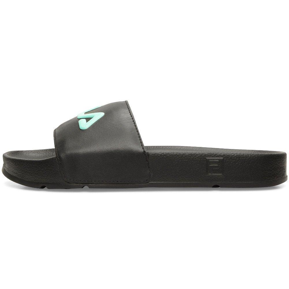 Fila Women's Drifter Sandals (8 B(M) US, Black, Cockatoo, Magenta)