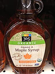 365 Everyday Value Organic Grade - A Maple Syrup