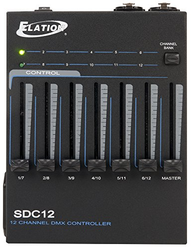 ADJ Products 12 CHANNEL BASIC DMX CONTROLLER (SDC12) ()