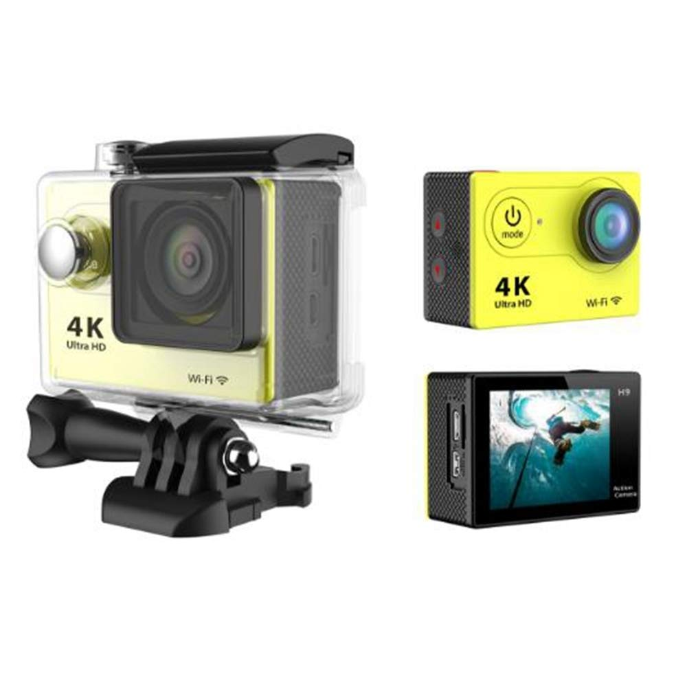 JIEJIEDA Action Kamera 4 K Wasserdichte Wif Ich Outdoor Sport DV Sport Bike Helm Kamerarecorder Aerial Shooting