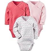 Carter's Baby Girls' Multi-Pk Bodysuits 126g252, Pink, 9M