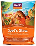 Halo Spot's Stew Natural Dry Dog Food, Adult Dog, Wholesome Chicken Recipe, 4-Pound Bag, My Pet Supplies