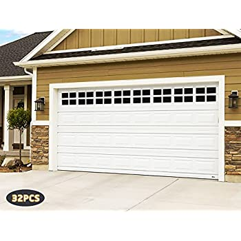 Decorative Magnetic Garage Door Window Panes Amp Hinges
