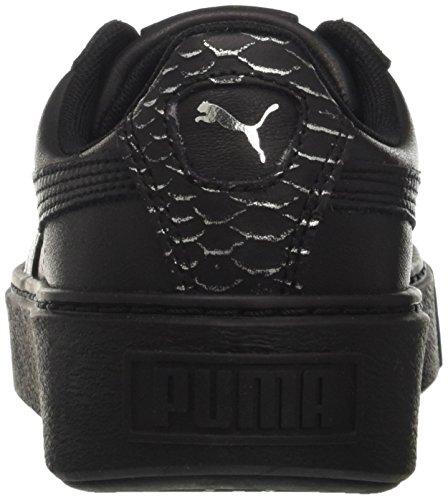 puma Silver Zapatillas Black Puma Platform puma Ocean Wn's Para Negro Mujer puma Basket Black ITI1qP7