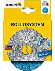 Schellenberg 36009 rolluikriem 14 mm x 6 m - systeem MINI, rolluikriem, riem rolluikband