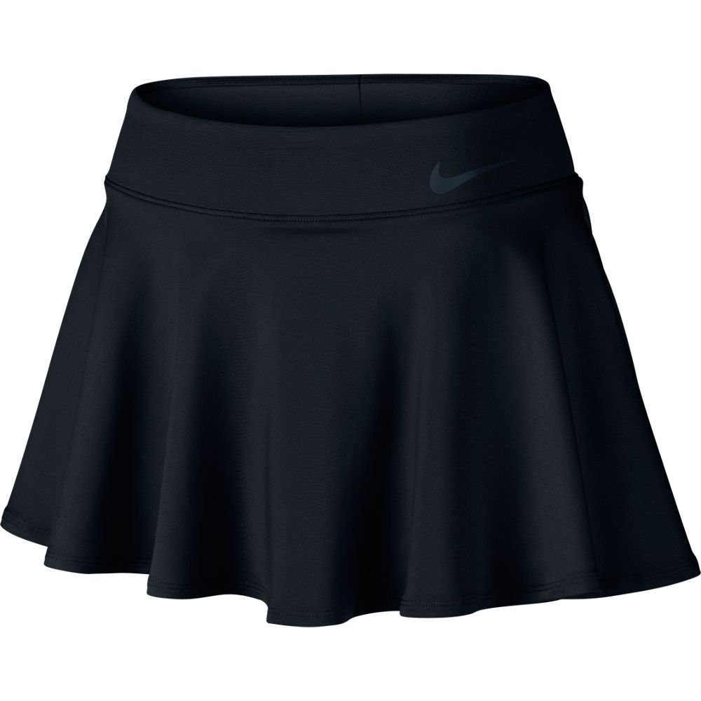 Nike Women's Court Baseline Tennis Skirt, Black, XL