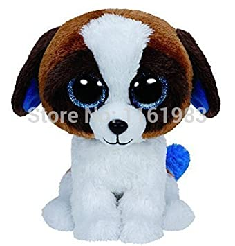 ff5810ebf3f Amazon.com  TY Beanie Boos Duke the Dog 15cm PLUSH Toys  Baby