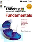 img - for Microsoft Excel 2000/Visual Basic for Applications Fundamentals by Reed Jacobson (1999-05-07) book / textbook / text book