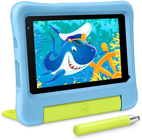 VANKYO MatrixPad S7 Kids Tablet 7 inch IPS HD Touch Screen, 2GB RAM 32GB ROM, Kidoz Pre Installed, Android OS, WiFi, Kid-Proof, 5MP Camera, w/Stylus, Blue