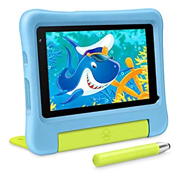 VANKYO MatrixPad S7 Youngsters Pill 7 inch IPS HD Contact Display, 2GB RAM 32GB ROM, Kidoz Pre Put in, Android OS, WiFi, Child-Proof, 5MP Digital camera, w/Stylus, Blue
