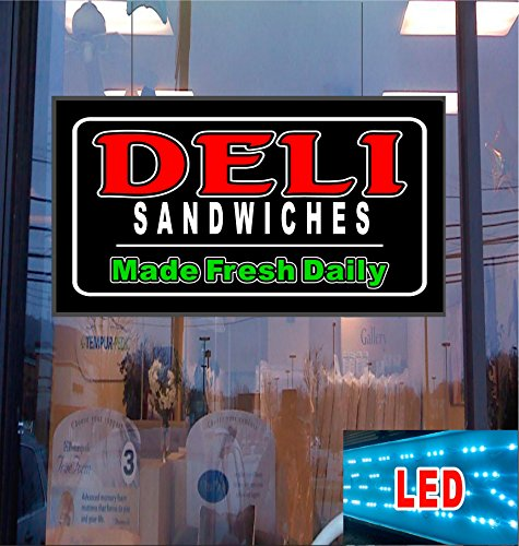 Deli Sandwiches LED Light Up Sign Computers, Electronics, Office Supplies, Computing (Sandwiches Sign Led)