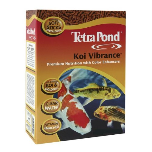 Tetra Pond 16486 5.18 Lb Koi Vibrance Pond Fish Food