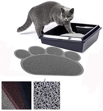 Manta para Cama de Perros, colchón, Juego de Mesa para Mascotas, Mantel para Perros y Gatos, pequeño y elástico de PVC, diseño de Pata (Gris) Antideslizante, Lavable: Amazon.es: Productos para mascotas