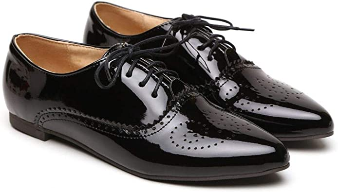 Flat Heels Oxfords Womens PomPon Slip On Loafers Pearls Pumps Shoes Chic Casual