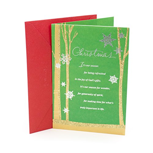 DaySpring Religious Christmas Greeting Card for Someone Special (The Blessing You - Greetings Christmas