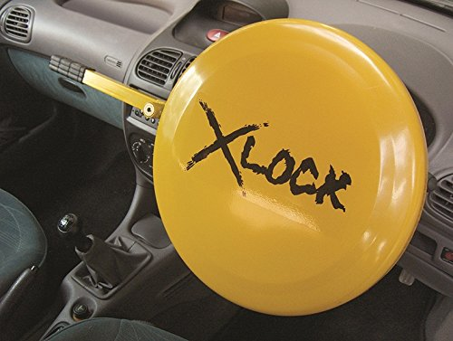 X-Lock Full Face Steering Wheel Lock – With 2 Keys And Storage Bag
