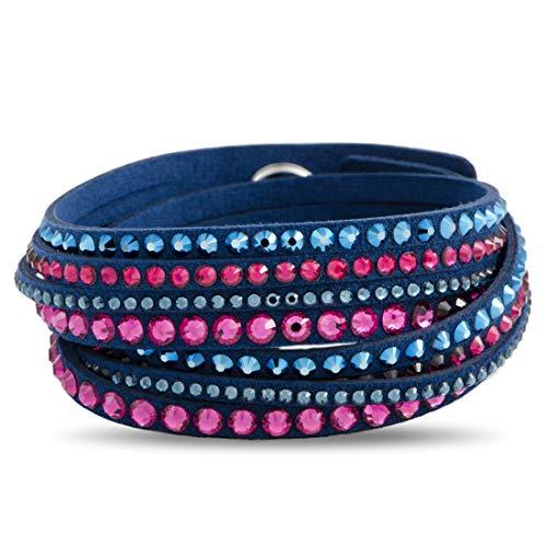 - Swarovski Slake Dark Blue Deluxe Bracelet - 5194200