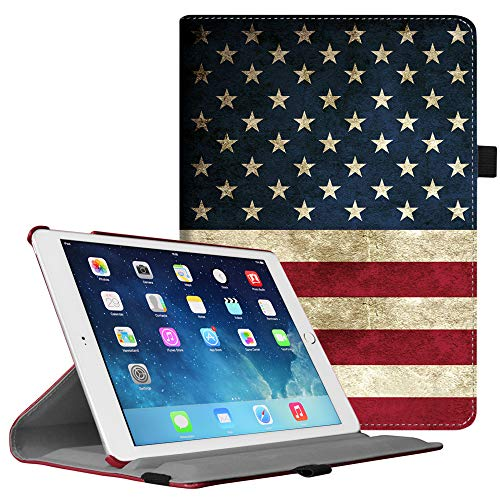(Fintie iPad Air 2 Case - Multiple Angles Stand Smart Protective Cover with Auto Sleep / Wake Feature for iPad Air 2, US)