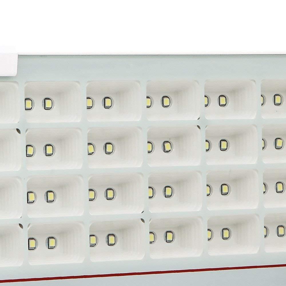 AUFUN Led Strahler 10W Kaltwei/ß Spotbeleuchtung Fluter Scheinwerfer Ultraslim LED Baustrahler Flutlicht IP68 wasserdicht Wandstrahler au/ßen und innen f/ür Garten Werkst/ätte Fabrike usw