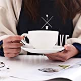 Coffeezone Latte Art Cup and Saucer for