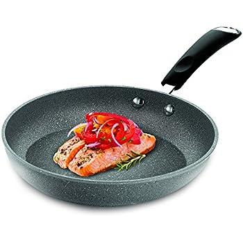 Bialetti Granito Nonstick Fry Pan, 8-Inch, Gray