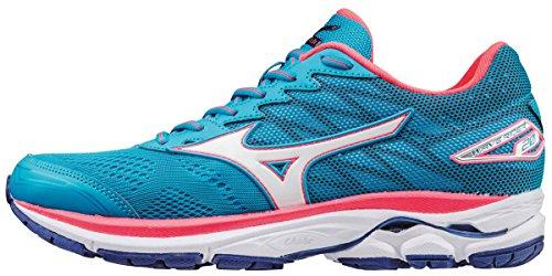 Entrainement Blue Pink Bleu Femme Diva W Rider Atomic White Mizuno Chaussures Wave Running de 20 wPqn06aT
