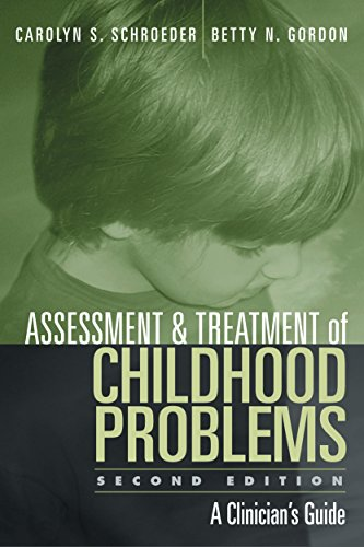 Download Assessment and Treatment of Childhood Problems, Second Edition: A Clinician's Guide Pdf