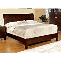 Furniture of America Ownby California King Paltform Bed in Cherry