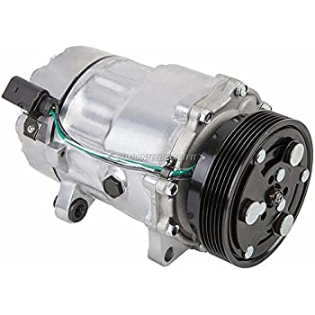 AC Compressor & A/C Clutch For VW Golf & Jetta 2000 2001 2002 2003 2004 2005 - BuyAutoParts 60-01503NA NEW