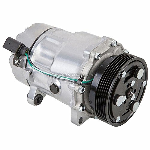 AC Compressor & A/C Clutch For Volkswagen VW Golf & Jetta MkIV 4-Cyl 2000 2001 2002 2003 2004 2005 - BuyAutoParts 60-01503NA NEW