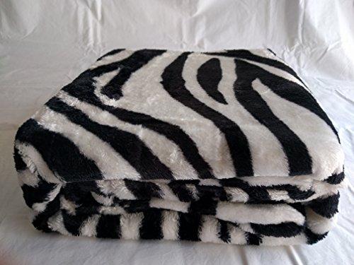 Zebra Throw Blanket - 1