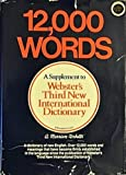 Twelve Thousand Words, Webster, 0877792070