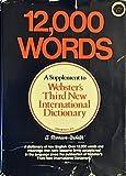 Twelve Thousand Words, Webster, 0877792070