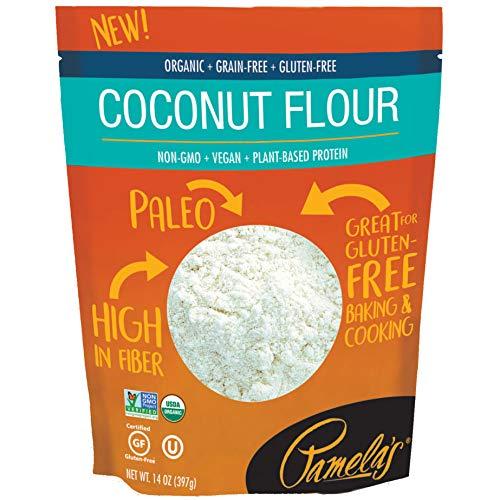 Pamela - Paleo de harina de coco sin gluten, sin cereales, 1 unidad