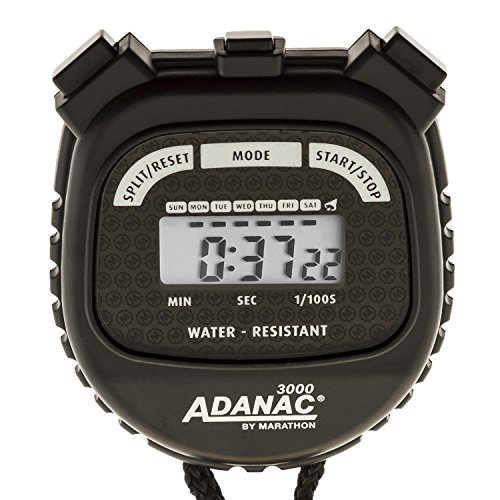 MARATHON Adanac 3000 Digital Stopwatch Timer - Battery Included