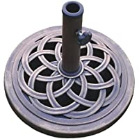 DC America UBP18181-BR 18-Inch Cast Stone Umbrella Base,...