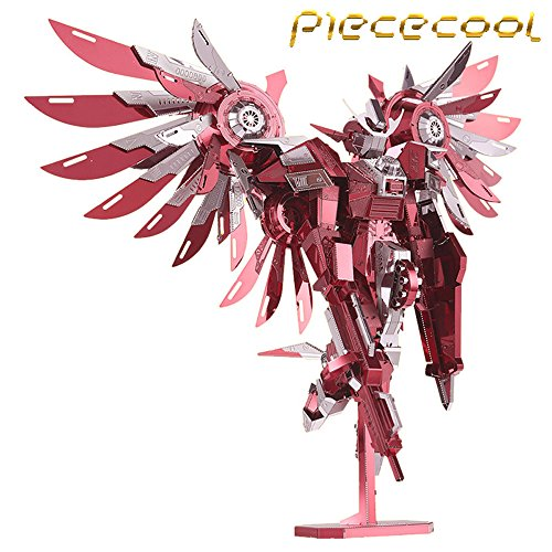 2016-Limited-Edition-Piececool-3D-Metal-Puzzle-Thundering-Wings-Gundam-Robot-P069-RS-DIY-3D-Metal-Puzzle-Kits-Laser-Cut-Models-Jigsaw-Toys