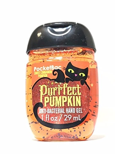 Bath & Body Works PocketBac Hand Gel Sanitizer Purrfect Pumpkin 2017]()