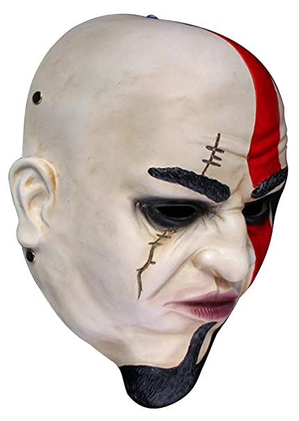 Amazon Com Gmasking Resin God Of War Kratos Mask 1 1