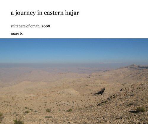a journey in eastern hajar