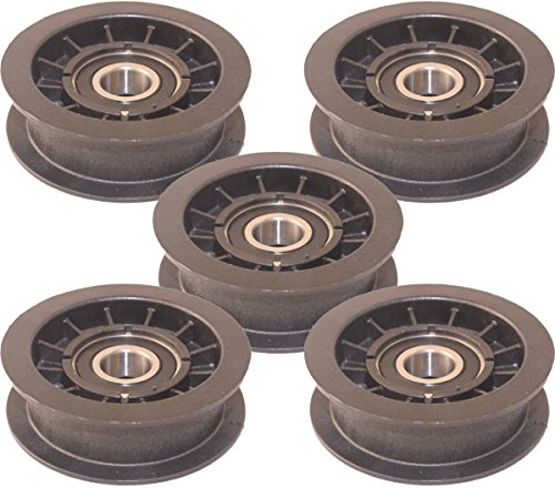 18b 5 Tool - Murray 5 Pack Lawn Mower Idler Pulley 2-3/ Diameter, 690409MA-5PK