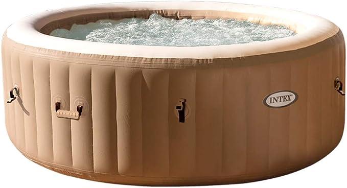 Intex 28426EX PureSpa - Spa Hinchable con Sistema de Burbujas, 4 Personas, 795L: Amazon.es: Jardín
