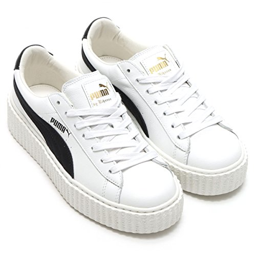 952140411c83 Puma x Fenty By Rihanna Women Creeper - Cracked Leather (white) new ...