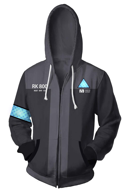 ValorSoul Game Cosplay Hoodies Jacket 3D Printed Hooded Unisex Loose Pullover Sweatshirt