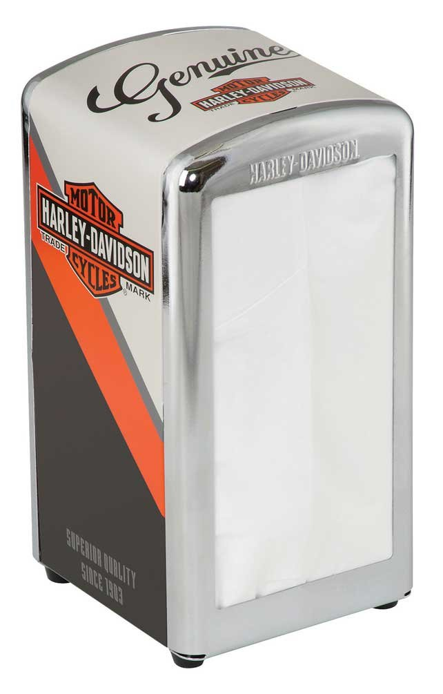 Harley-Davidson Nostalgic Bar & Shield Vintage Napkin Dispenser HDL-18568
