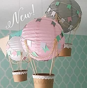 Amazon Whimsical Hot Air Balloon Diy Kit Nursery Decoration