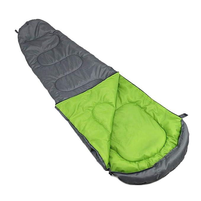 nihiug Sacos De Dormir Momia Para Adultos Equipo De Acampada Impermeable Cálido Transpirable Perfecto Para 15-30 Grados Acampar Al Aire Libre Poliéster ...