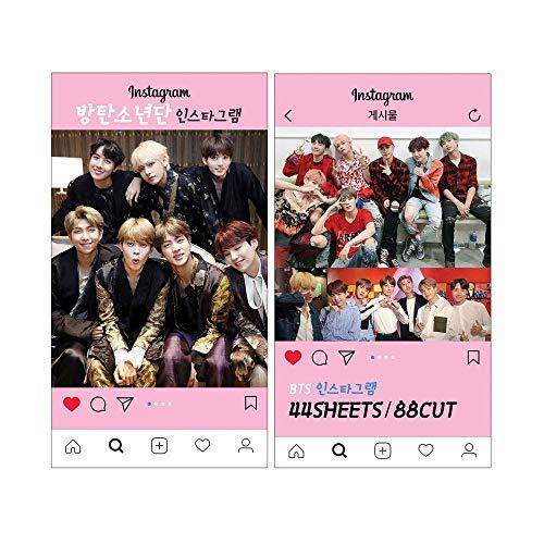 K-POP Group 2019 New Instagram Photo Card set (44sheets / 88cut) (BTS)