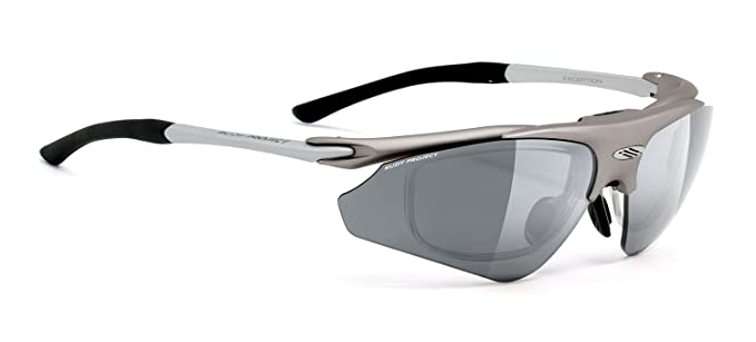 Rudy Project Exception Frame: Titanium, Lens: Grey ImpactX Polarized ...