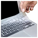 DEWANG UK/EU Layer Keyboard Cover Match Keyboard Layout for MacBook Pro 13' / Pro 15' / Pro 17' (with or w/out Retina Display) iMac and MacBook Air 11.6' / Air 13.3' and Retina 12'/ 13' / 15' TPU